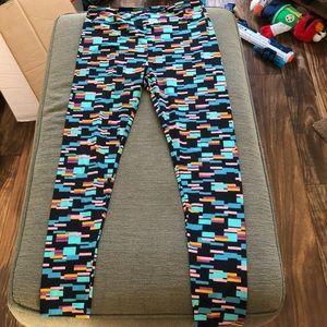 Colorful LuLaRoe TC Multicolored Leggings EUC 🌸
